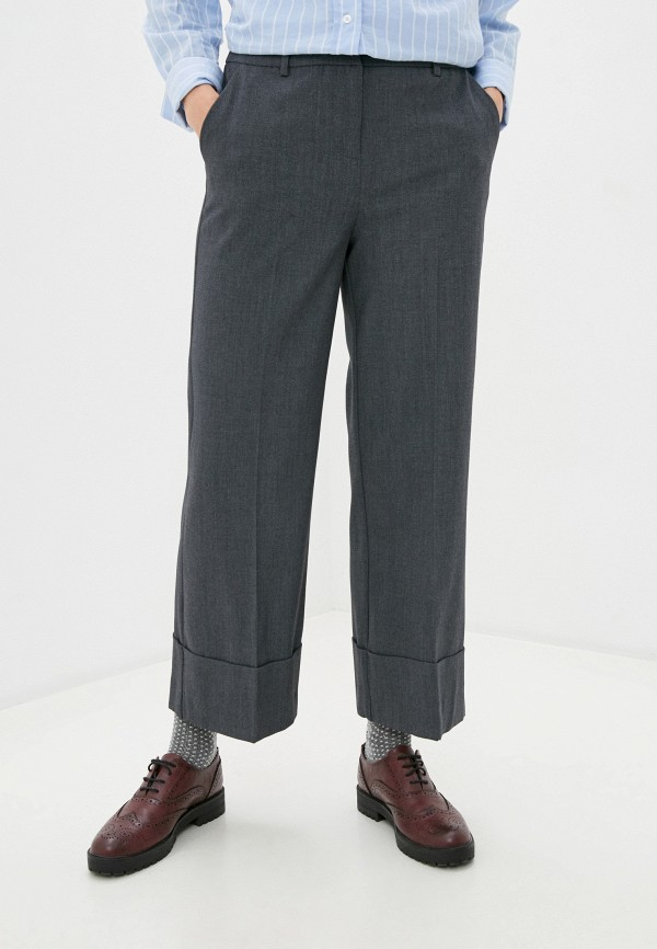 женские брюки b.young, серые