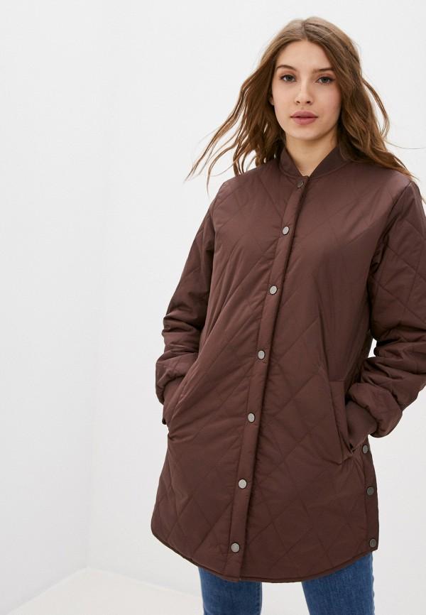 женская куртка b.young, коричневая