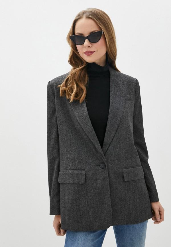 женский пиджак b.young, серый