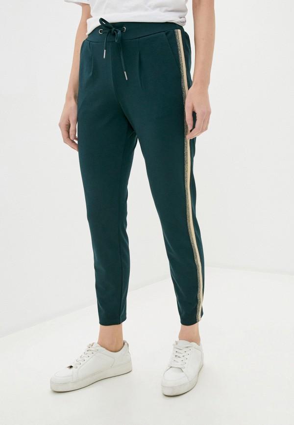 женские спортивные брюки b.young, зеленые