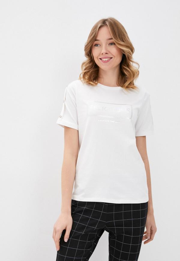 женская футболка b.young, белая