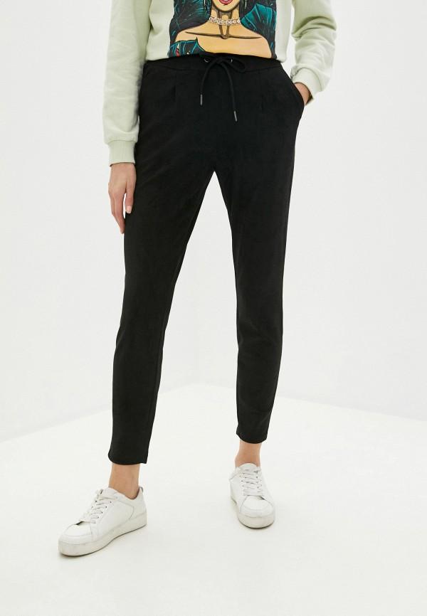 женские брюки b.young, черные