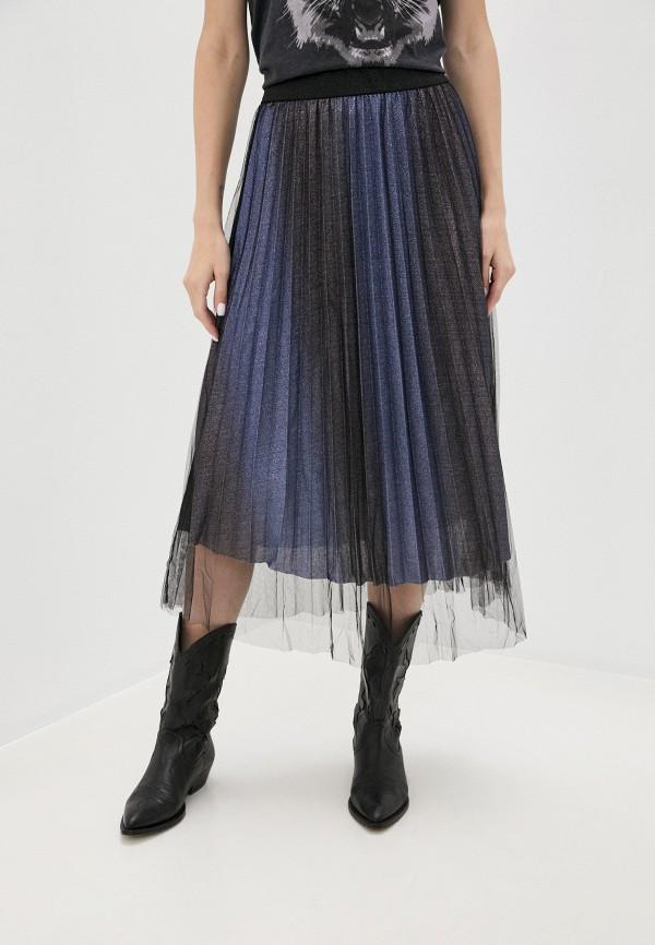 женская юбка b.young, синяя