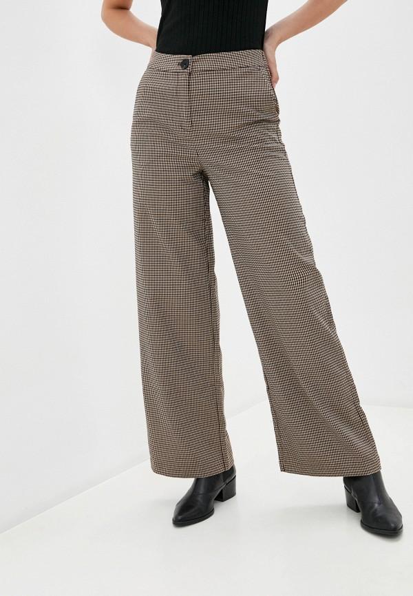 женские повседневные брюки b.young, коричневые
