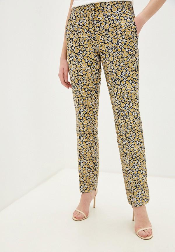 женские классические брюки by malene birger, желтые