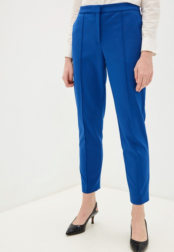 женские классические брюки by malene birger, синие