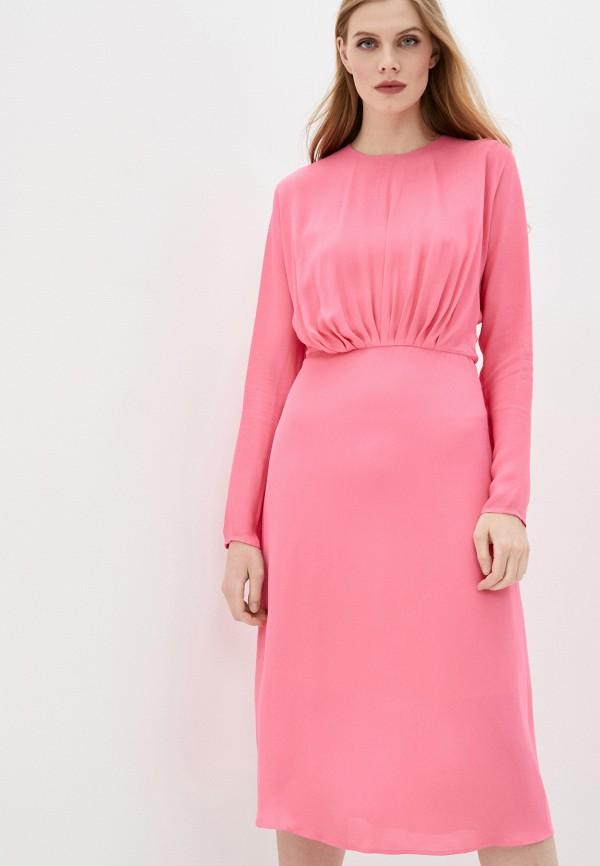женское повседневные платье by malene birger, розовое