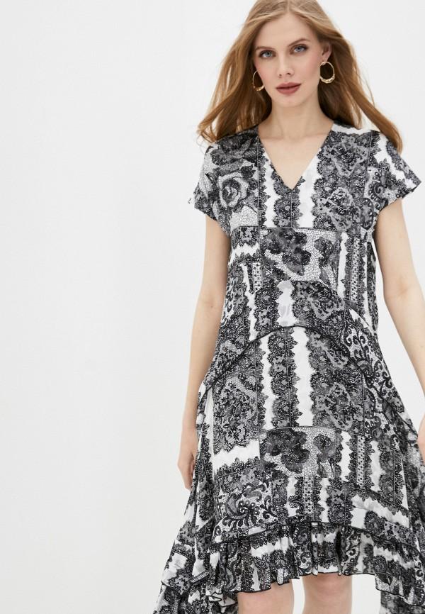 женское повседневные платье by malene birger, серое