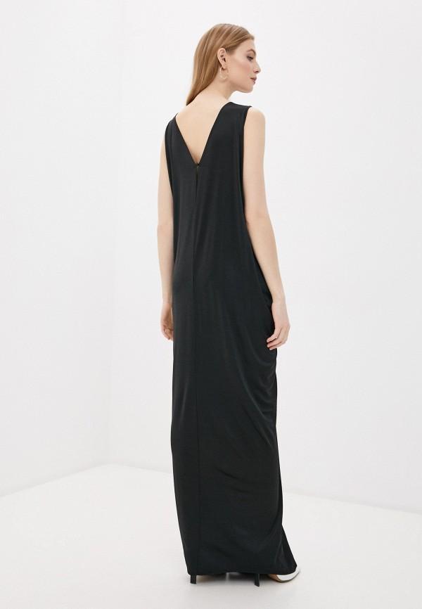 Фото 3 - Женское вечернее платье By Malene Birger черного цвета