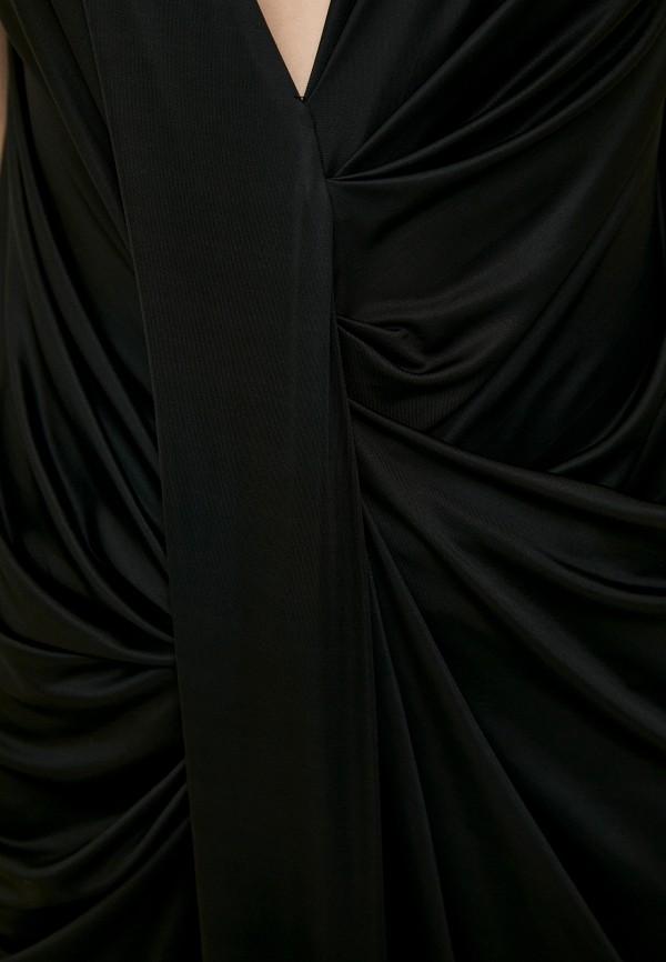 Фото 4 - Женское вечернее платье By Malene Birger черного цвета