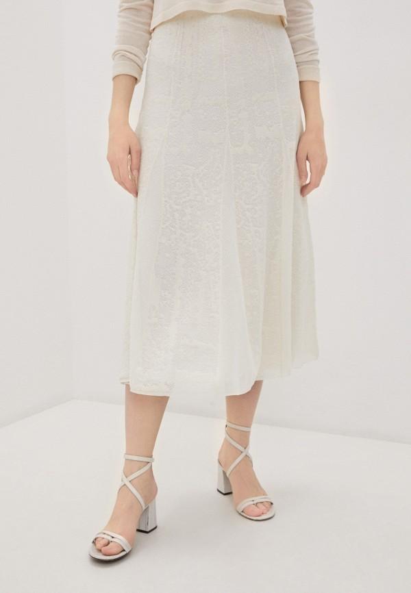 женская юбка by malene birger, белая