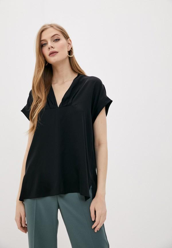 женская блузка by malene birger, черная