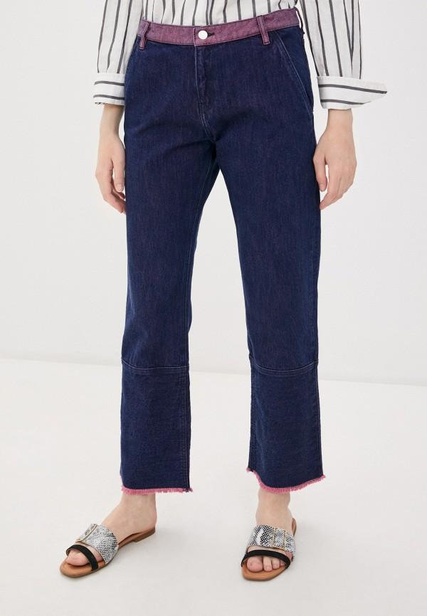 женские прямые джинсы by malene birger, синие