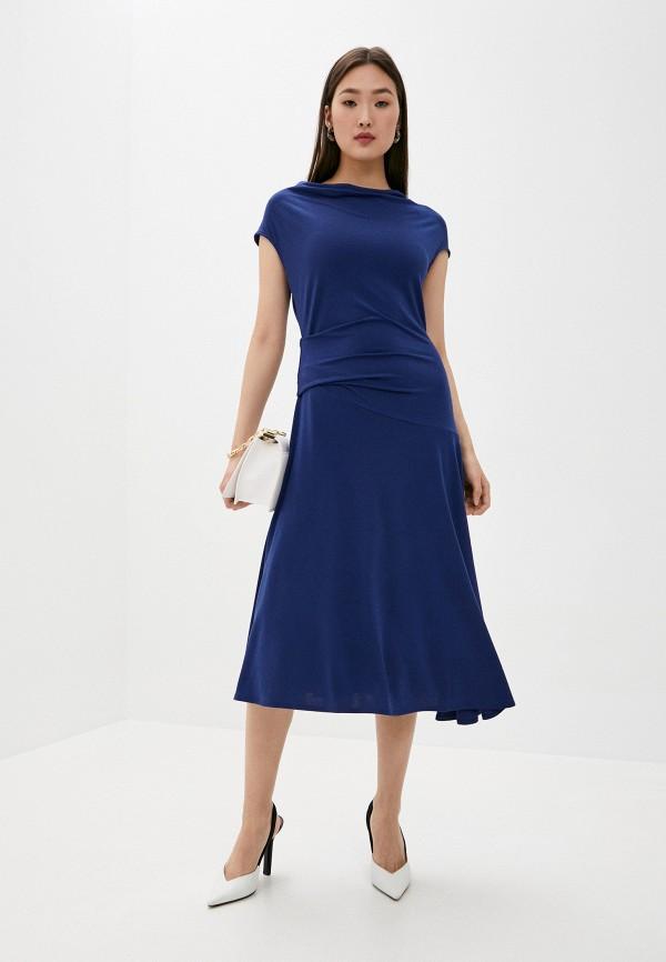 женское повседневные платье by malene birger, синее