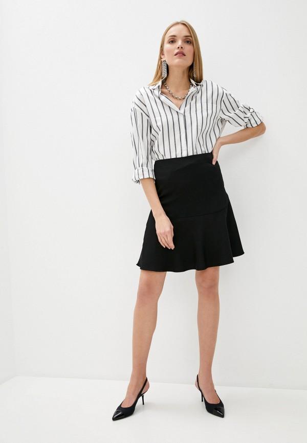 Фото 2 - Женскую юбку By Malene Birger черного цвета
