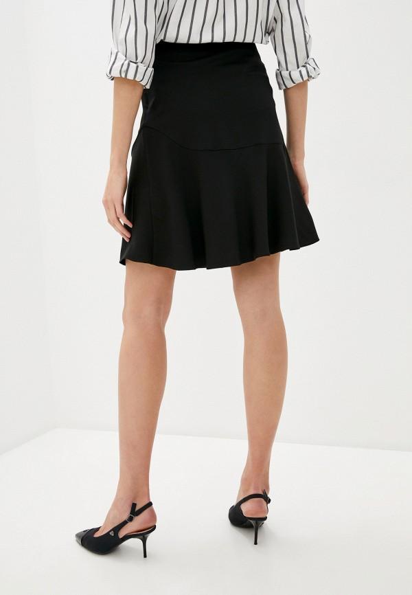Фото 3 - Женскую юбку By Malene Birger черного цвета