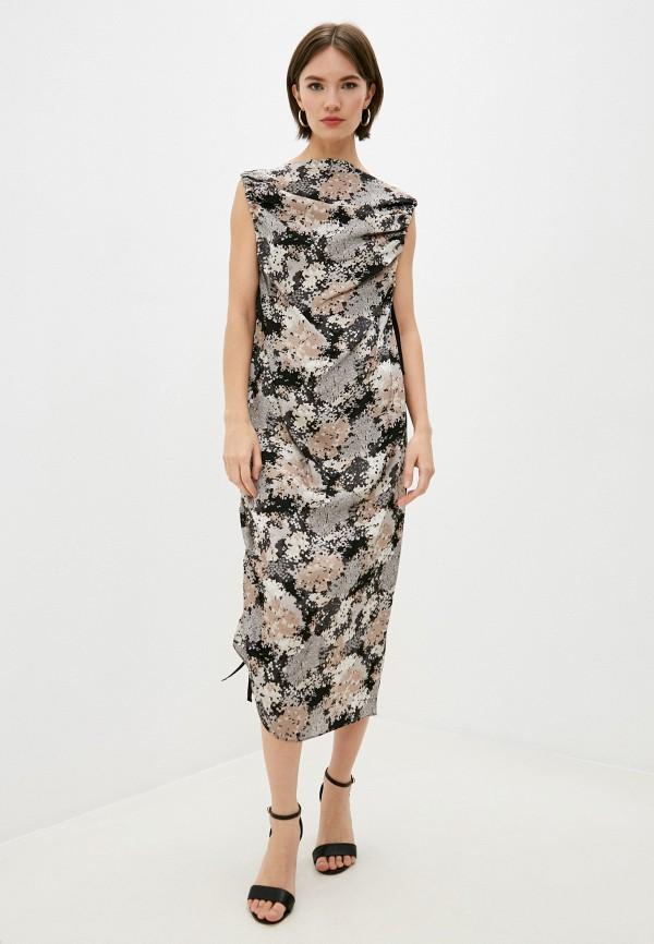 женское повседневные платье by malene birger, разноцветное