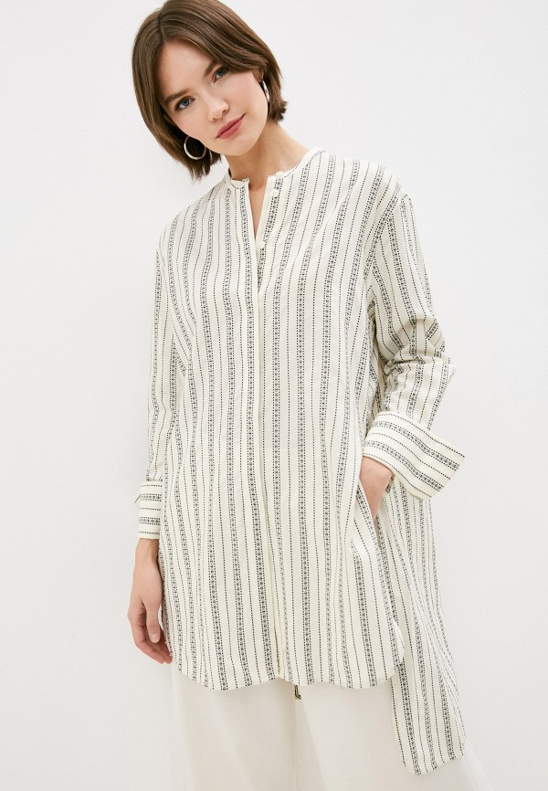 женская блузка by malene birger, белая