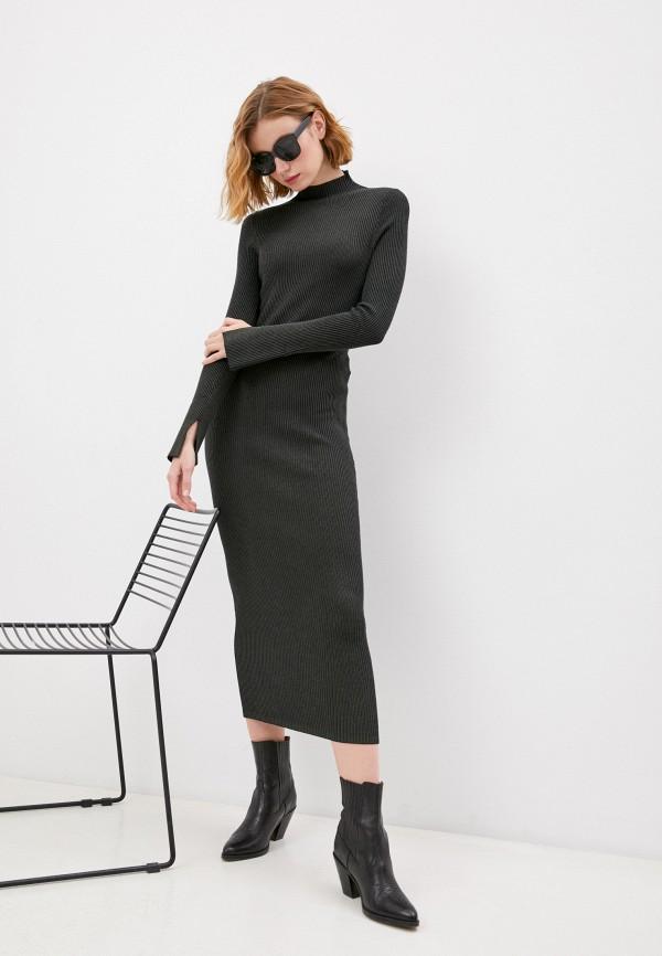 женское платье by malene birger, черное