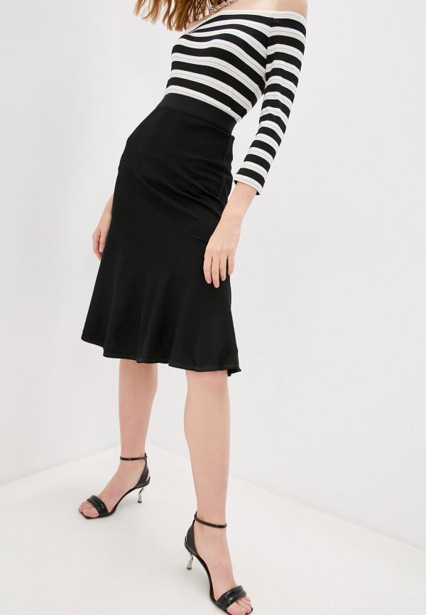 женская юбка by malene birger, черная