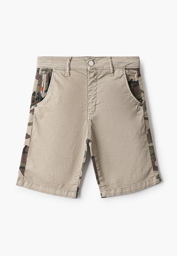 шорты byblos для мальчика, бежевые