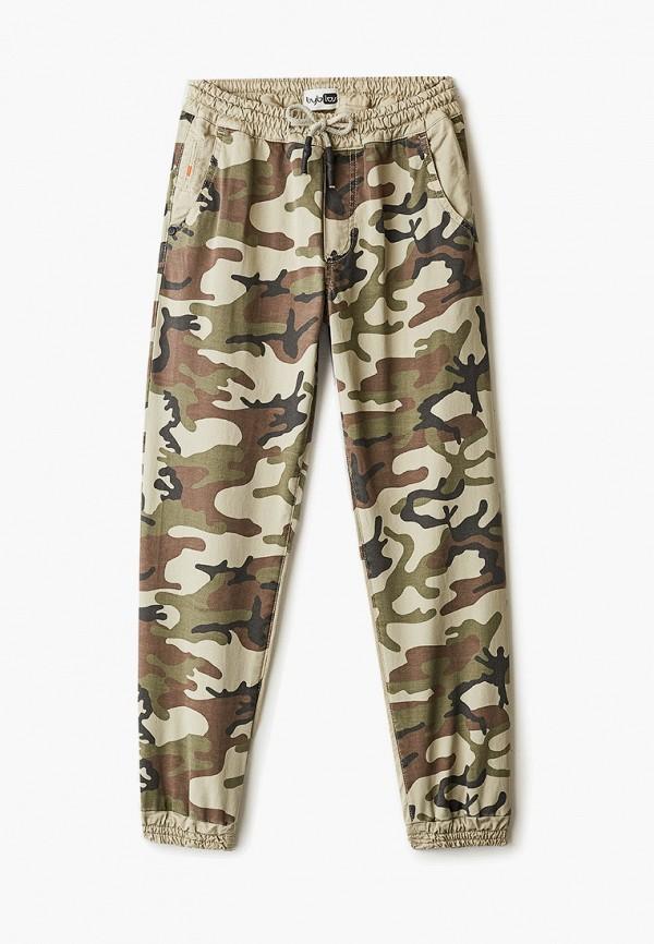 брюки byblos для мальчика, хаки