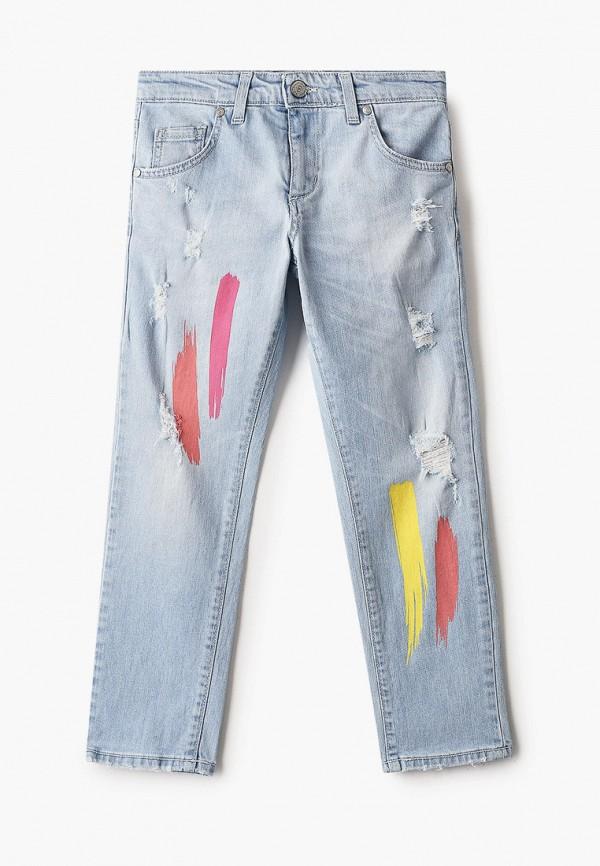 джинсы byblos для девочки, голубые