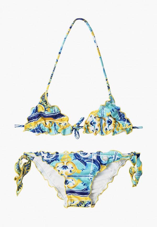 купальник byblos для девочки, разноцветный