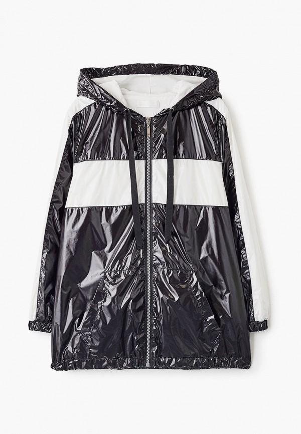 легкие куртка byblos для девочки, черная