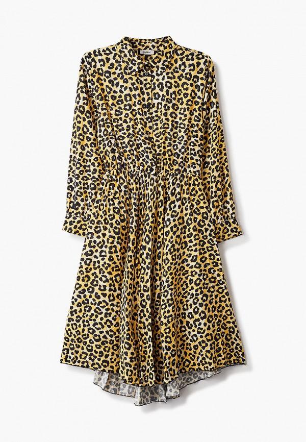 повседневные платье byblos для девочки, желтое