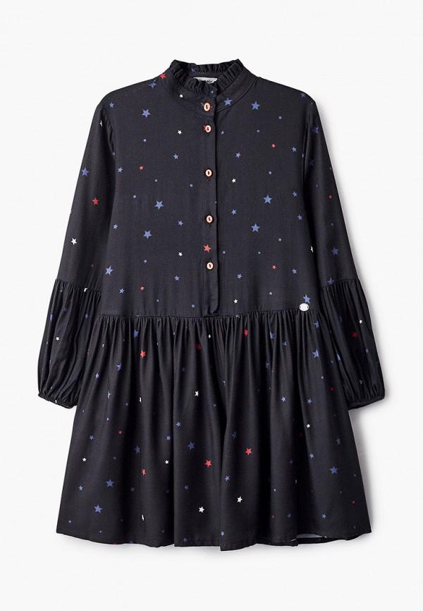 повседневные платье byblos для девочки, синее