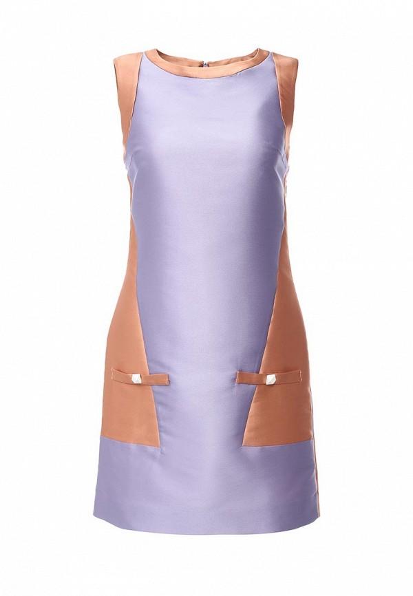 женское повседневные платье byblos, фиолетовое
