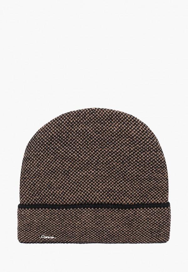 женская шапка canoe, коричневая