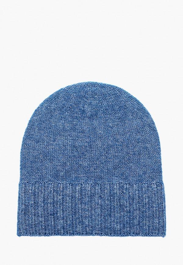 женская шапка canoe, синяя