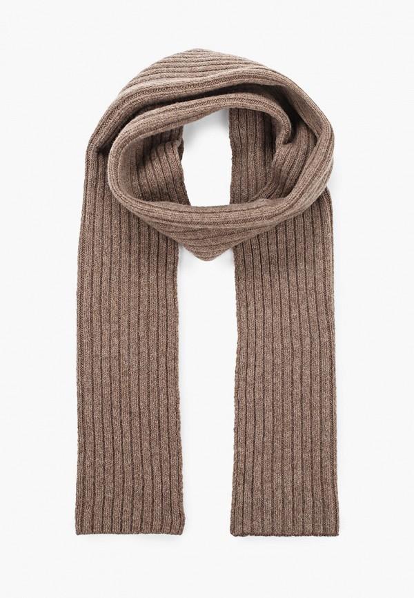 мужской шарф canoe, коричневый