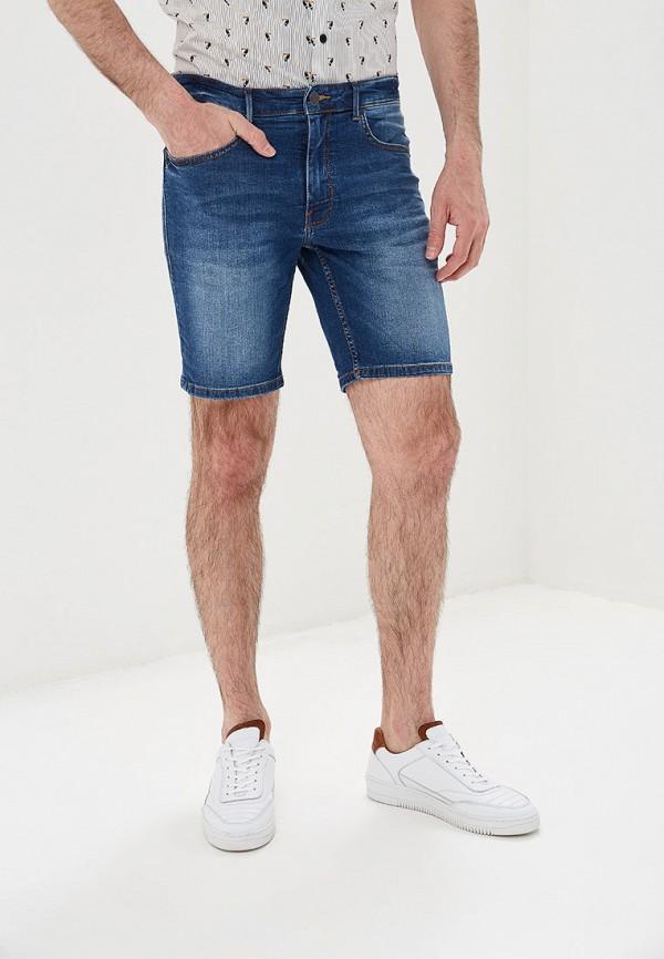 мужские джинсовые шорты casual friday by blend, синие