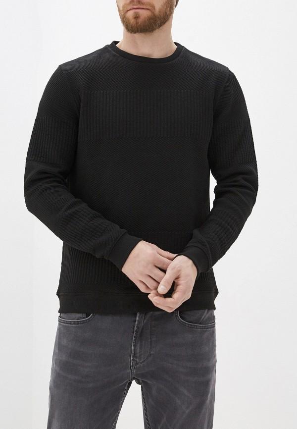 мужской свитшот casual friday by blend, черный