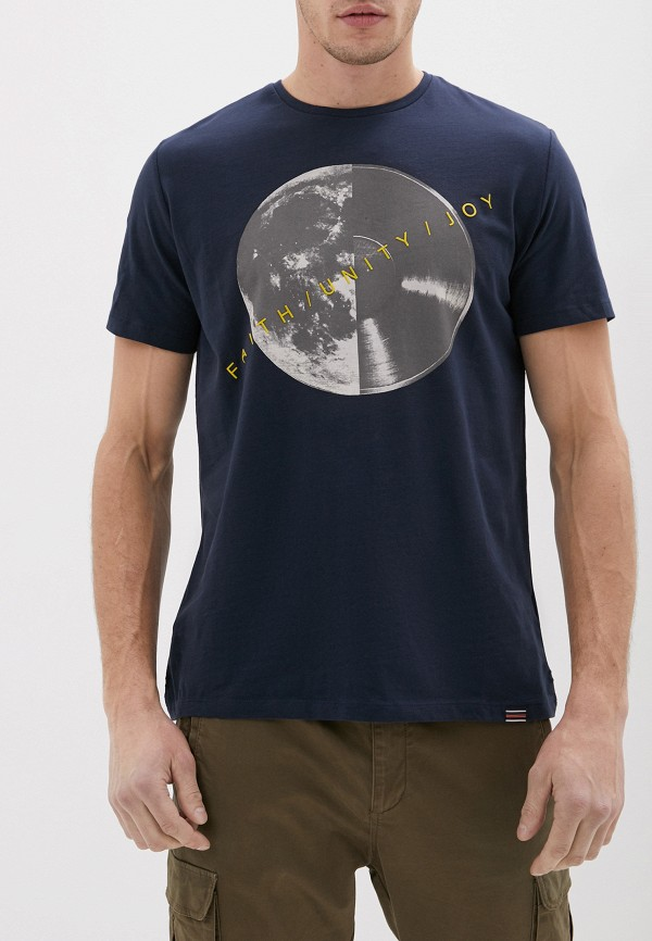мужская футболка с коротким рукавом casual friday by blend, синяя