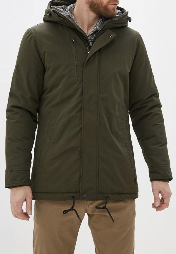 мужская куртка casual friday by blend, хаки