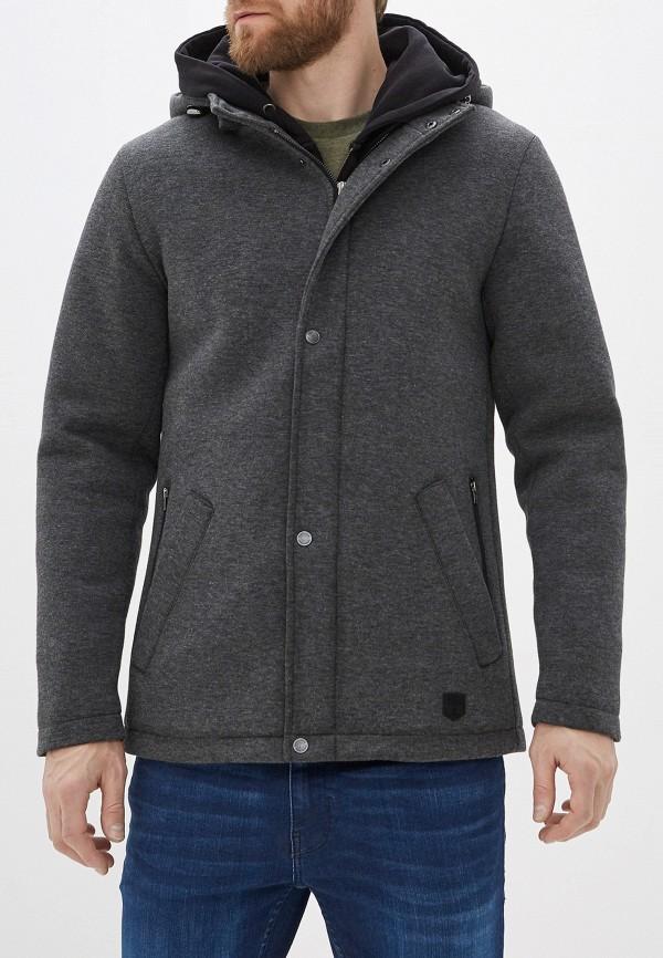 мужская куртка casual friday by blend, серая