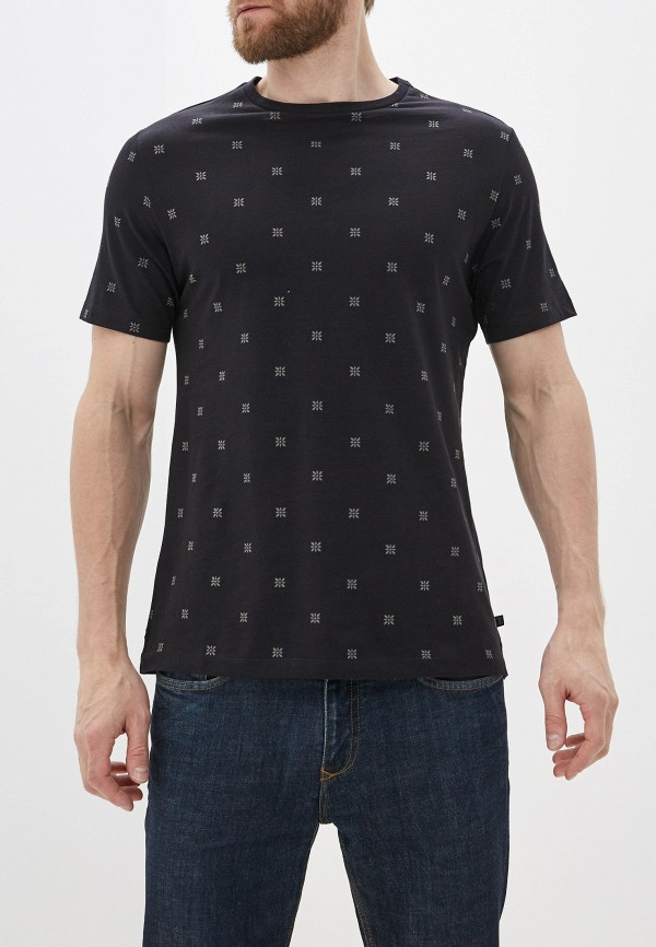 мужская футболка с коротким рукавом casual friday by blend, черная