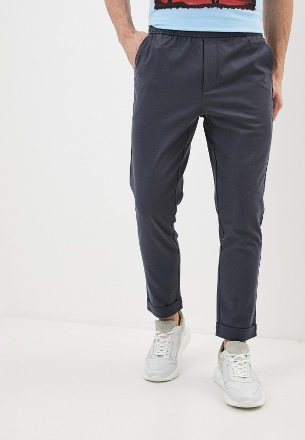 мужские брюки чинос casual friday by blend, серые