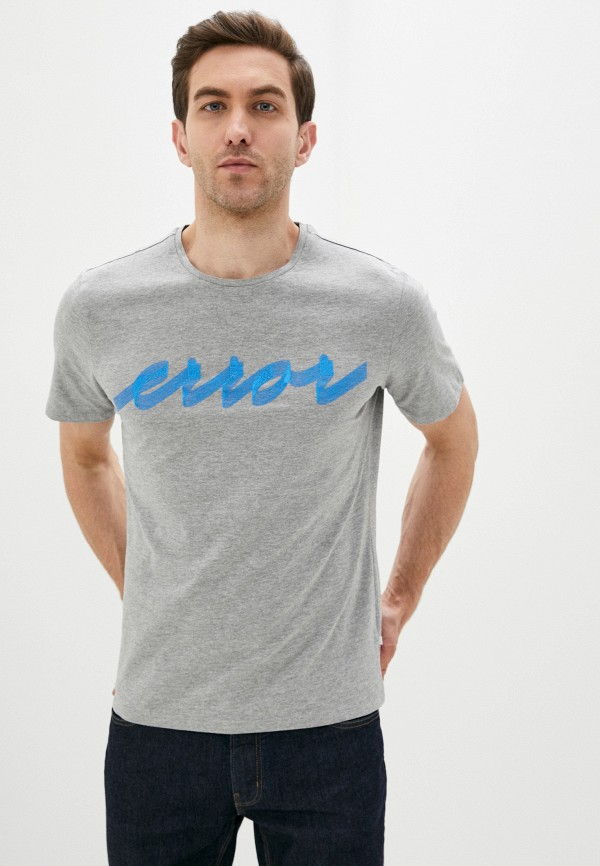 мужская футболка с коротким рукавом casual friday by blend, серая