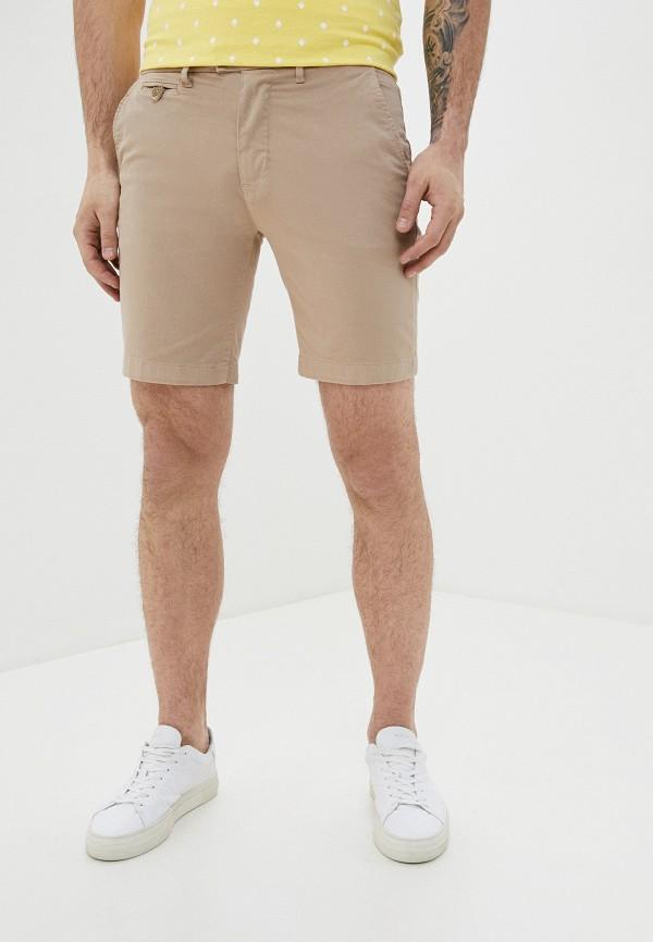 мужские повседневные шорты casual friday by blend, бежевые