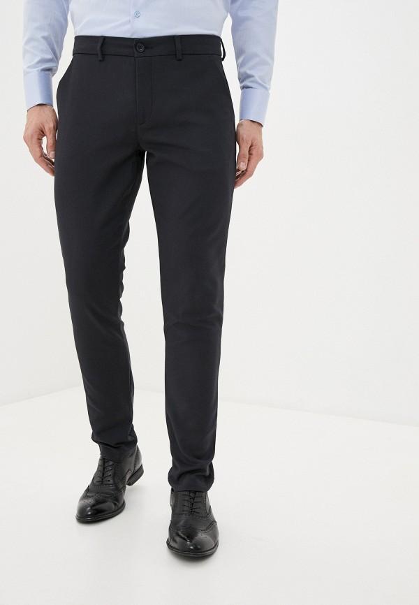 мужские прямые брюки casual friday by blend, синие