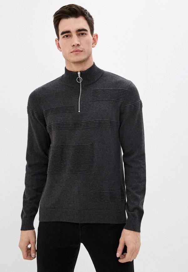 мужской джемпер casual friday by blend, серый