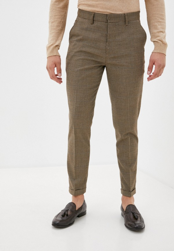мужские брюки чинос casual friday by blend, коричневые