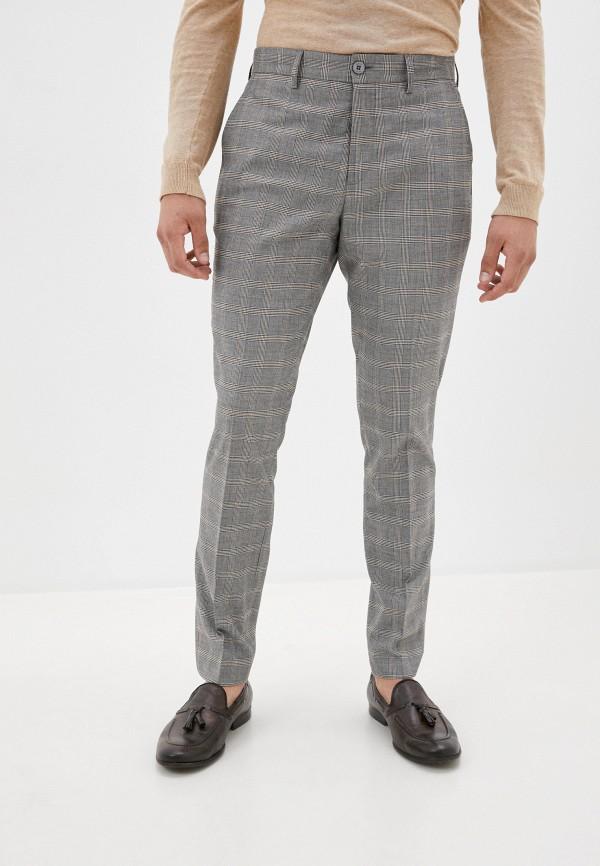 мужские повседневные брюки casual friday by blend, серые