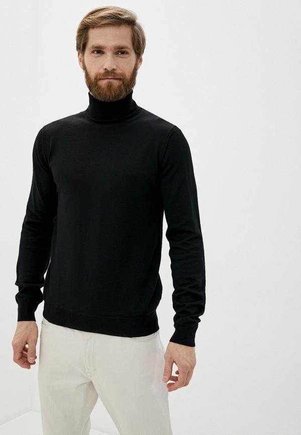 мужская водолазка casual friday by blend, черная