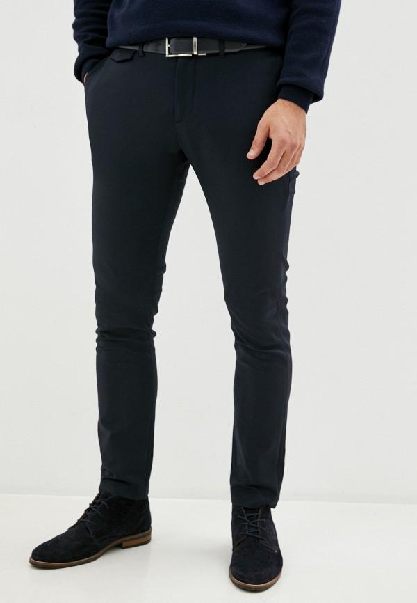 мужские брюки чинос casual friday by blend, синие